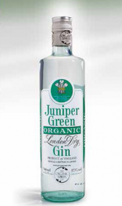 Juniper Green Organic  London Dry Gin 70cl